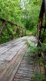 Старый мост на стекле Джека Стоковые Изображения RF