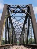 Старый мост поезда Стоковое фото RF