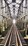 Старый мост поезда Стоковые Изображения