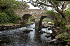 Старый мост плотины Стоковые Фотографии RF