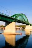 Старый мост трама Стоковая Фотография RF