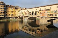 Старый мост Флоренс Стоковые Изображения RF