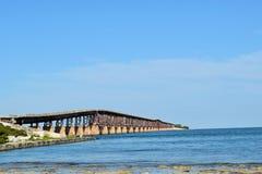 Старый мост Флориды Стоковые Фотографии RF
