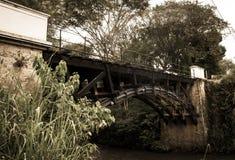 Старый мост стоковое изображение