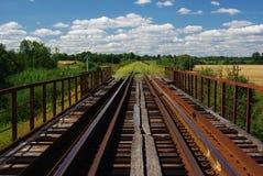 Старый мост Стоковые Изображения RF