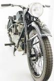 Старый мотоцикл стоковые фото