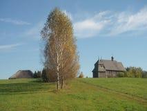 Старый музей архитектуры, Беларусь стоковая фотография