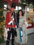 Старый национальный костюм стоковое фото rf