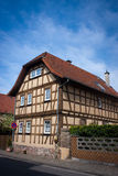 Старый немецкий дом Стоковое фото RF