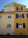 Старый - новый фасад Стоковое фото RF