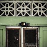 Старый номер дома Стоковые Изображения RF