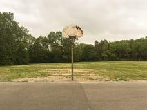 Старый обруч баскетбола Стоковое Фото