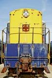 Старый локомотивный фронт Стоковые Фотографии RF