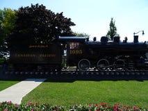 Старый локомотив пара в Кингстоне стоковые фото
