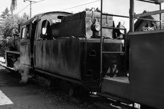 Старый локомотив пара стоковое изображение