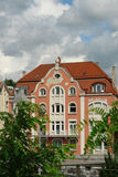 Старый дом в городе Esslingen am Неккара Стоковые Изображения