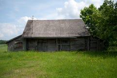 Старый дом в деревне Стоковое Изображение
