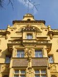Старый дом в Праге Стоковая Фотография