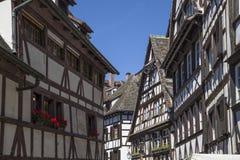 Старый дом в Эльзасе Стоковое Изображение RF