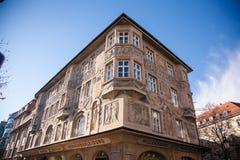 Старый дом в Munchen. Стоковая Фотография RF