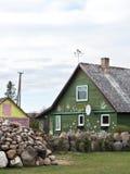 Старый дом, Литва стоковые фотографии rf
