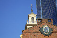 Старый дом положения Бостона, США Стоковые Изображения