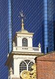 Старый дом положения Бостона, США Стоковое Фото