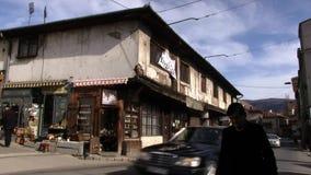 Старый дом Сараево 4K сток-видео