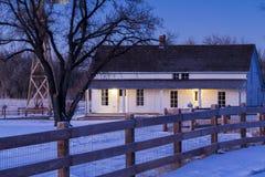 Старый дом фермы Стоковая Фотография