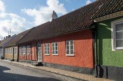Старый дом для приезжих, Simrishamn Стоковая Фотография