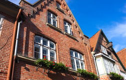 Старый дом-Ii-Lueneburg кирпича Стоковая Фотография RF