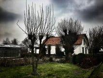 Старый дом spookey Стоковые Фото