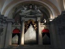 старый орган Стоковая Фотография