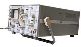 Старый осциллограф стоковая фотография rf