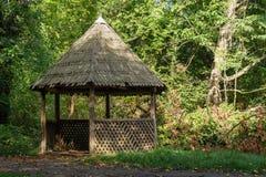 старый павильон деревянный Стоковое Фото