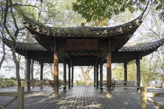 Старый павильон, westlake Ханчжоу стоковая фотография