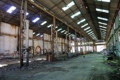 Старый пакгауз мастерских шахты Стоковые Фотографии RF