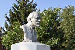 Старый памятник к Ленину Стоковое Изображение RF