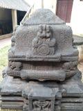 Старый памятник утеса стоковые изображения rf