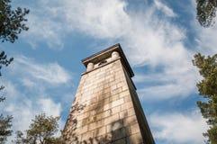 Старый памятник Стоковые Изображения RF