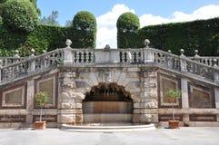 Старый парк в спе Terme Monecatini Стоковая Фотография