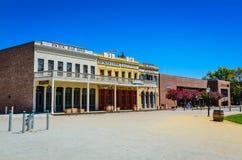 Старый парк положения Сакраменто исторический Стоковое Изображение