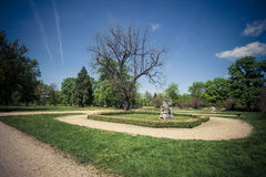 Старый парк Стоковые Изображения RF