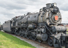 Старый паровоз пара Стоковые Фото