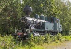 Старый паровоз пара Стоковое Фото