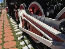 Старый паровоз пара Стоковые Изображения