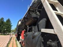 Старый паровоз пара Стоковое фото RF