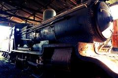 Старый паровоз пара Стоковая Фотография RF