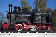 Старый паровой двигатель Стоковое фото RF