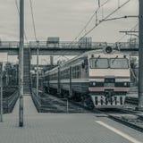 старый пассажирский поезд Стоковые Фото